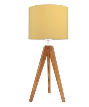 lampa do pokoju dziecka musztarda