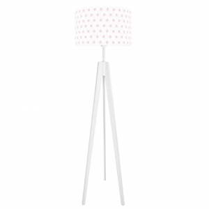 lampa stojąca do pokoju dziecka w gwiazdki