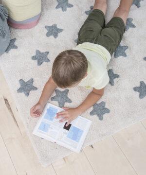 C VS NVB 11 300x360 - Dywan dziecięcy niebieskie gwiazdki