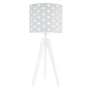 lampa na stolik w gwiazdki