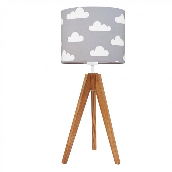 lampa dziecięca w chmurki