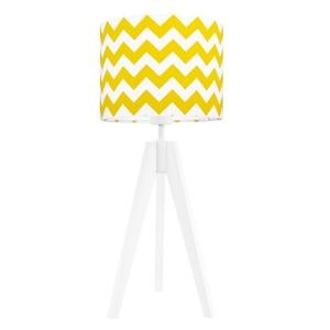 ee71819a 622f 4f91 92cd 4562811aac4a 2 300x300 - Lampa na stolik chevron żółty