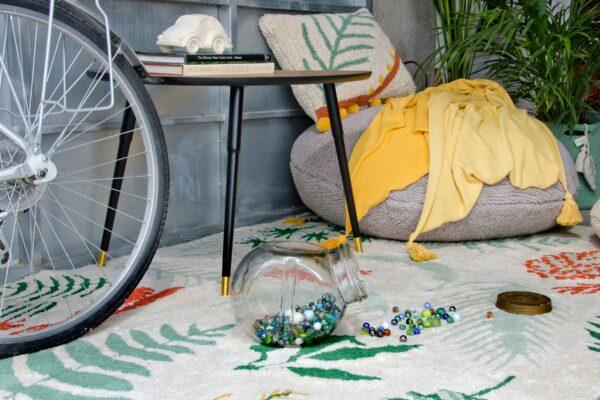 Dywan dla dzieci botaniczne rośliny