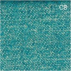 jabba allurevelvet c8 - Pufa dla dzieci DOT L - niebieski