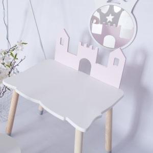 stoliczek zamek dla dzieci