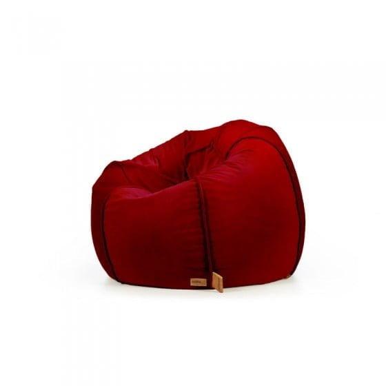 pufa baloon allurevelvet 5 - Pufa dla dzieci z oparciem