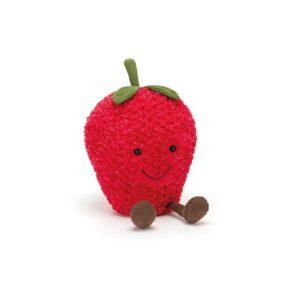 maskotka truskawka dla dzieci