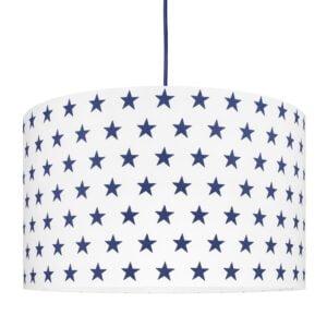 lampa sufitowa granatowe gwiazdki