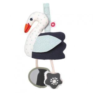 zabawka interaktywna łabędź dla niemowląt