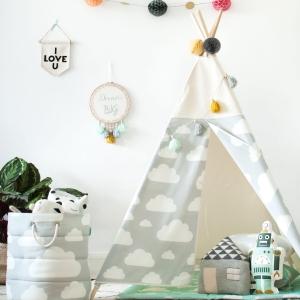 namiot do pokoju dziecka chmurki