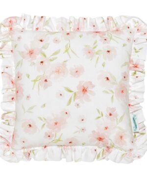 poduszka ozdobna w kwiaty