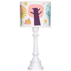 Lampa stojąca sowa