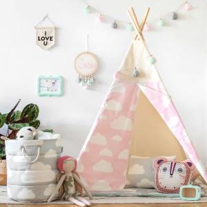TvEOTUQ 300x300 - Namiot tipi dla dzieci różowy chmurki