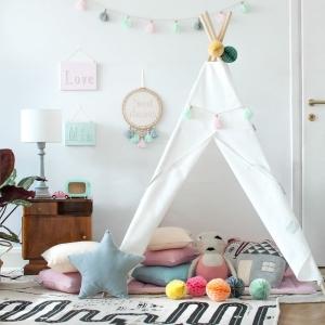 Teepee do pokoju dziecka biały
