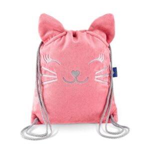 Plecak worek dziecięcy kotek