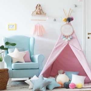 Teepee do pokoju dziecka różowy