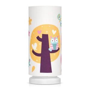 Lampka nocna dla dzieci drzewka
