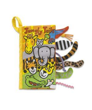 miękka książeczka dla niemowląt safari