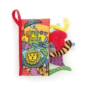 ksizeczka z ogonkami 21cm 3 300x300 - Miękka książeczka dla niemowląt zwierzęta