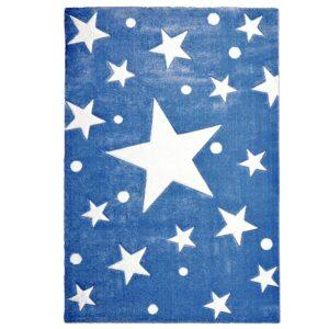 Dywan dla dzieci granatowy gwiazdy
