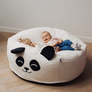 puf maxi biala panda 3245 300x300 - Wielka pufa dla dzieci panda