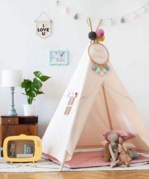 namiot do pokoju dziecka tipi jasny