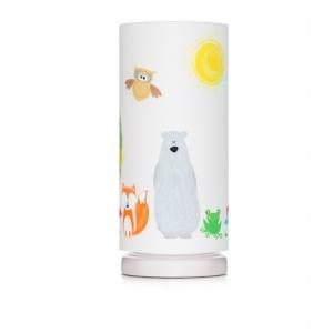 Lampka nocna dla dzieci leśni przyjaciele