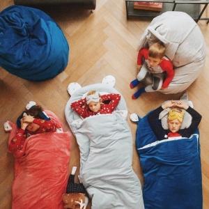śpiworek dla dziecka kotek L