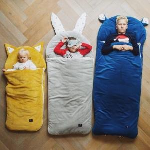 spiworek sleepover small blekitny 2806 1 300x300 - Śpiworek dziecięcy renifer L