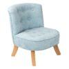 Fotel dla dziecka brudny błękit