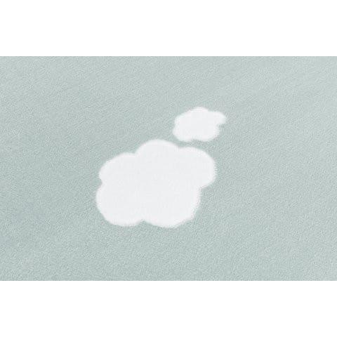 32184 kids rug happy rugs sky cloud mint white 120x180cm 2 - Miętowy dywan w chmurki