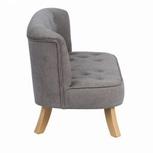 Bok sofa szary misiaczkowy krotkie drewniane 300x300 - Szara sofa dla dziecka