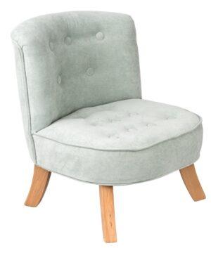 Brudna Mieta Velvet Dusty Mint  2  300x360 - Fotel dla dziecka brudny miętowy