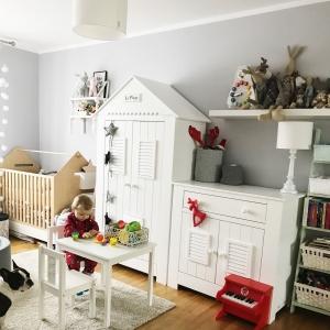 Lampa wisząca do pokoju dziecka biała