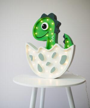 Lampka dinozur do pokoju dziecka