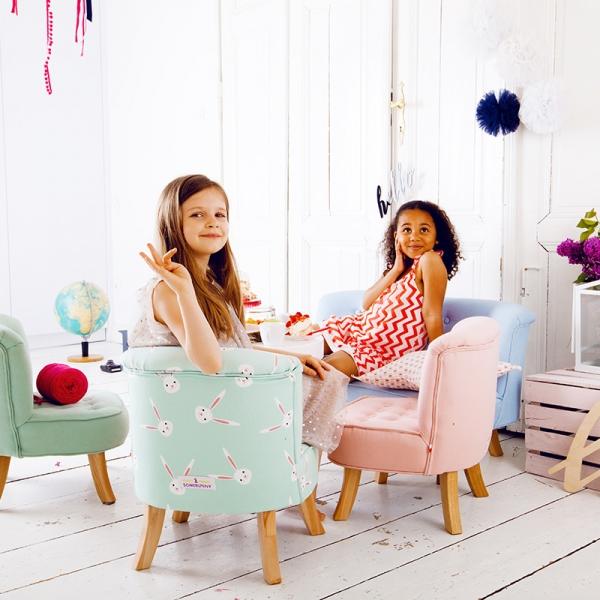 IMG 6505 600x600 - Sofa dla dziecka karmelowy róż