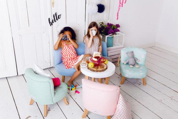 IMG 6539 600x400 - Fotel dla dzieci szary welur