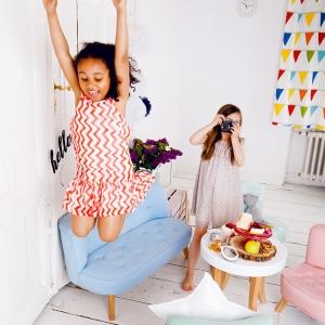 IMG 6581 300x300 - Sofa dla dziecka karmelowy róż