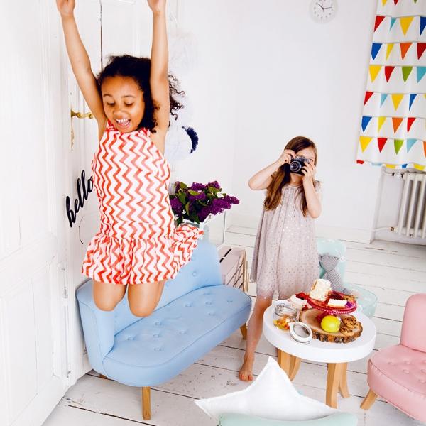 IMG 6581 600x600 - Szara sofa dla dziecka
