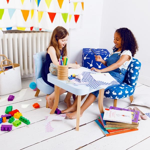IMG 6630 600x600 - Fotel dla dziecka z uszami króliczka
