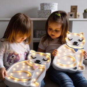 Kotek 300x300 - Lampka dla dziecka kotek