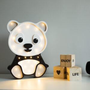 Lampka panda dla dzieci