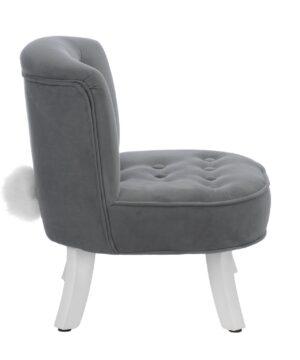 Fotel dla dziecka z ogonkiem króliczka