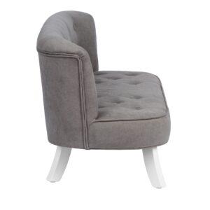 Szara sofa dla dzieci