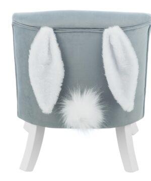 Uszak Bunny Grey  1  300x360 - Fotel dla dziecka z uszami króliczka