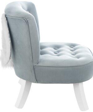 Fotel dla dziecka z uszami króliczka
