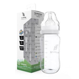 Szklana butelka antykolkowa 240 ml