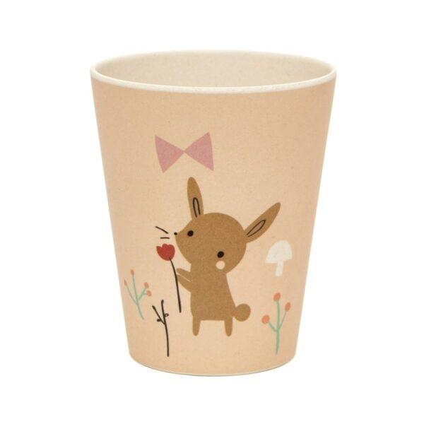 Kubeczek dla dziecka bambusowy królik