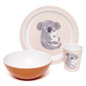 petit monkey kubeczek z melaminy koala 2 1 300x300 - Płaski talerz dla dzieci koala
