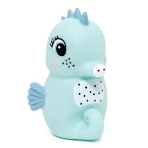 Lampka dziecięca konik morski niebieski
